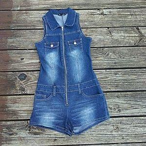 Blue Jean jumper